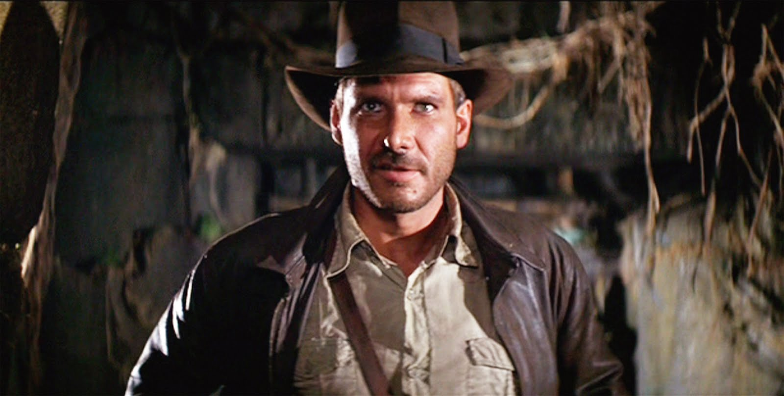 raiders of the lost ark Harrison ford and john ryhs-davies on the set of raiders of the lost ark  there were pages and pages of visual description but not much.